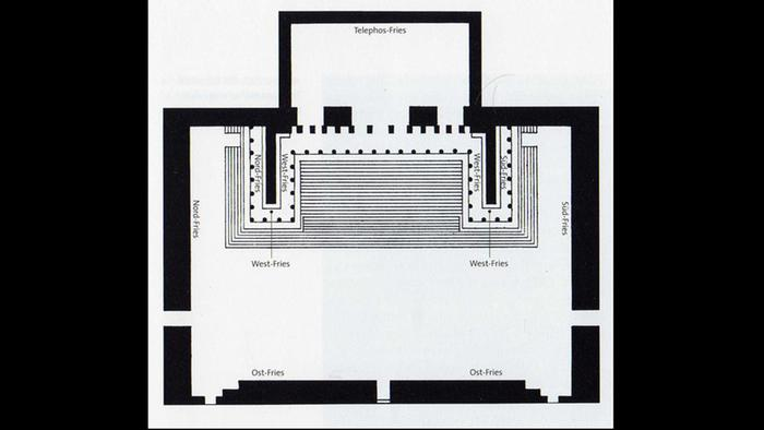 Layout of presentation at the Pergamon Museum (Photo: public domain)