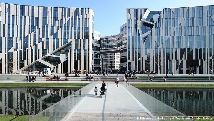 Kö-Bogen, Dusseldorf (Düsseldorf Marketing & Tourismus GmbH - U.Otte)