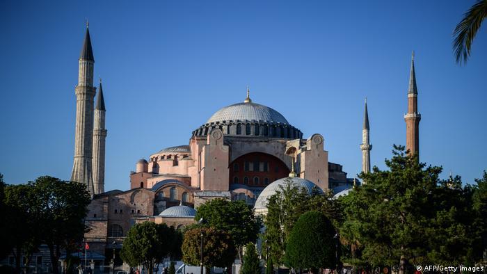 Hagia Sofia Mosque Türkei Istanbul (AFP/Getty Images)