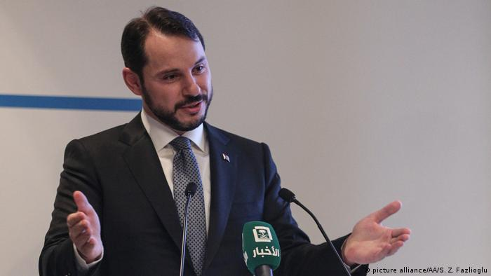 The son-in-law: Berat Albayrak's autonomy may be limited (picture alliance/AA/S. Z. Fazlioglu)