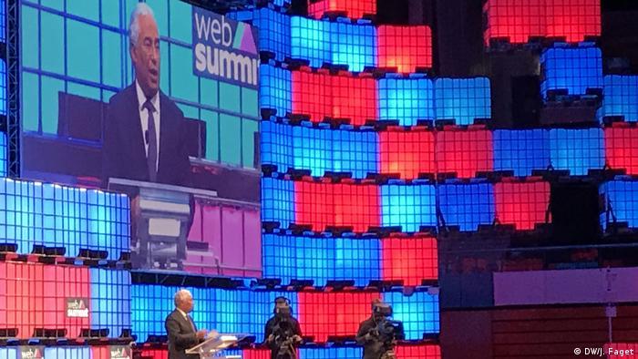 Lissabon Web Summit António Costa