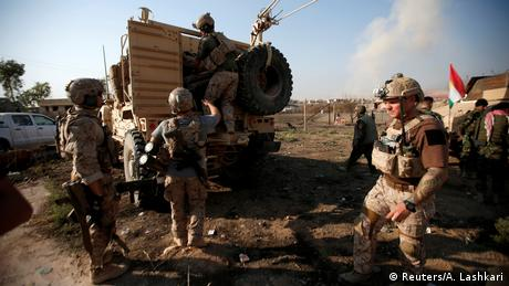 Irak Baschiqa Kämpfe US-Soldaten (Reuters/A. Lashkari)