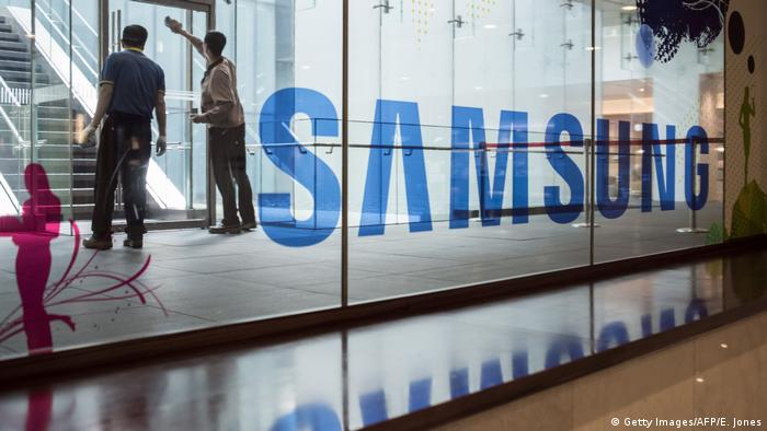 Südkorea Samsung Zentrale in Seoul (Getty Images/AFP/E. Jones)