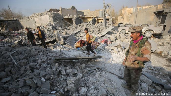Irak Kampf um Mossul gegen den IS (Getty Images/A. Al-Rubaye)