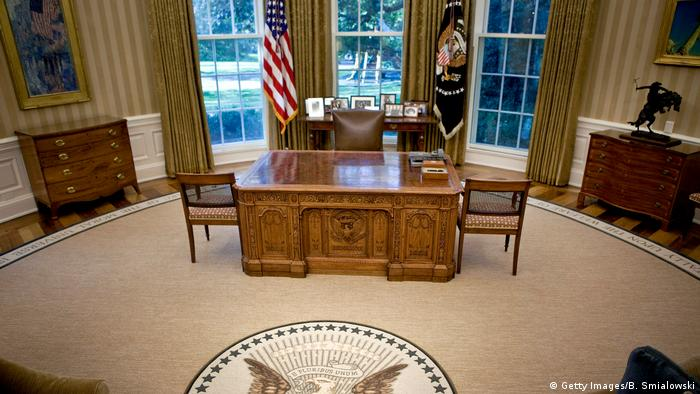 Washington White House leeres Oval Office (Getty Images/B. Smialowski)