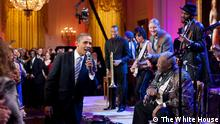 USA White House Obama singt Sweet Home Alabama