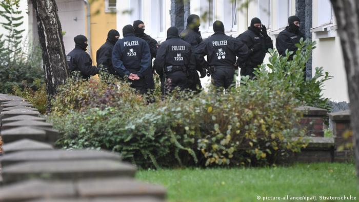 2016年11月,警方在希尔德斯海姆实施搜捕