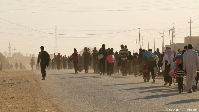 Біженці поблизу Мосула