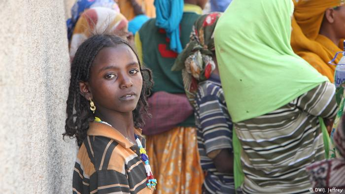 An Ethiopian Oromo girl in Harar (DW/J. Jeffrey)