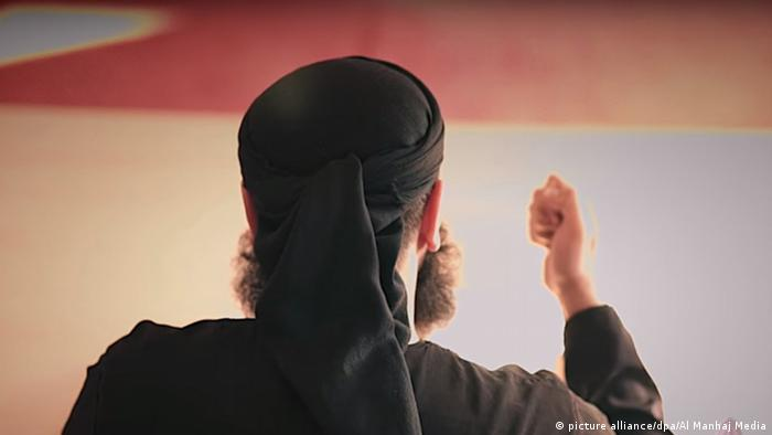 Abu Walaa - Screenshot von Al Manhaj Media