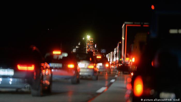 Затори на дорогах у листопаді - часте явище в Німеччині