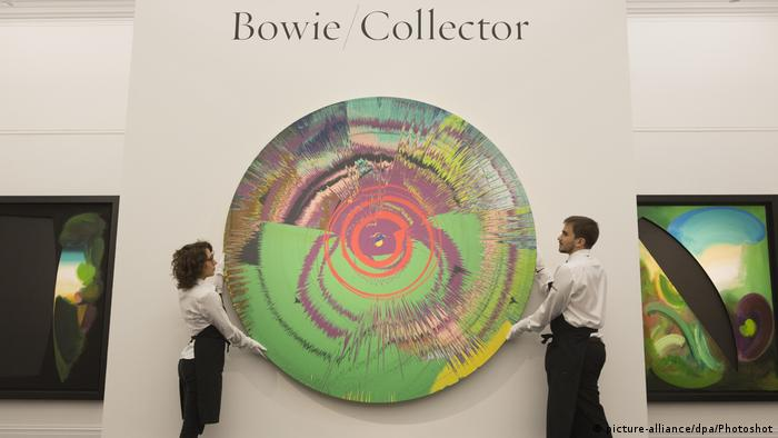 London Versteigerung der privaten Kunstsammlung David Bowies bei Sotheby's