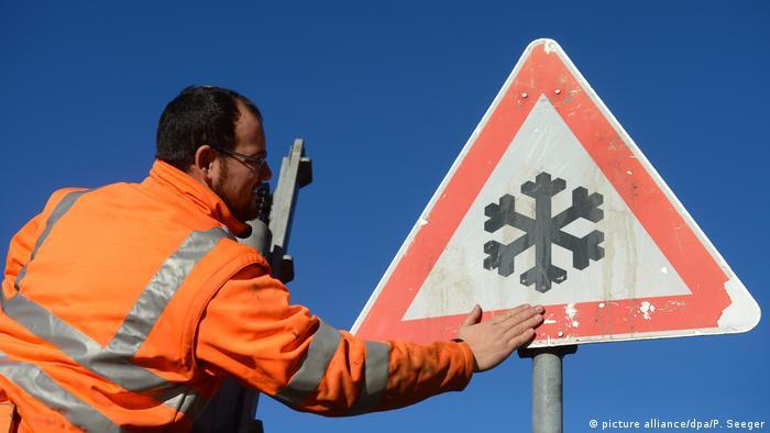 У листопаді нерідко на дорогах - зимові умови