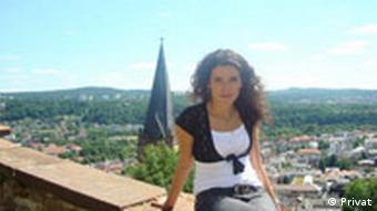 Russische Studentin in Marburg