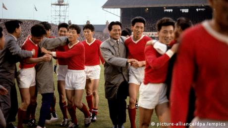 Nordkorea 1 Italien 0 (1966 WM) (picture-alliance/dpa /empics)