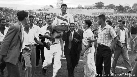 USA 1 England 0 (1950 WM) (picture alliance/AP Photo)