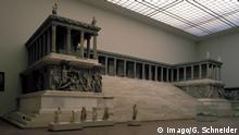 Zeusaltar im Pergamonmuseum in Berlin-Mitte