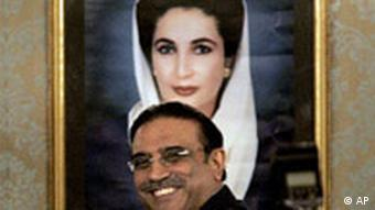 Pakistan Präsident Asif Ali Zardari vereidigt