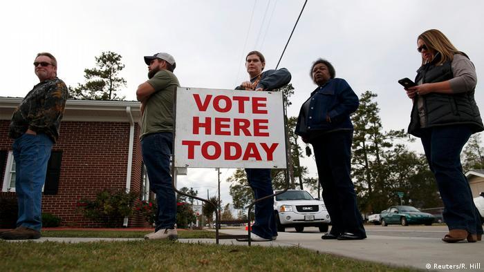 USA Präsidentschaftswahl (Reuters/R. Hill)