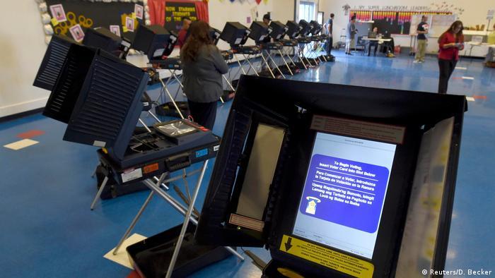 Машини для голосування у США