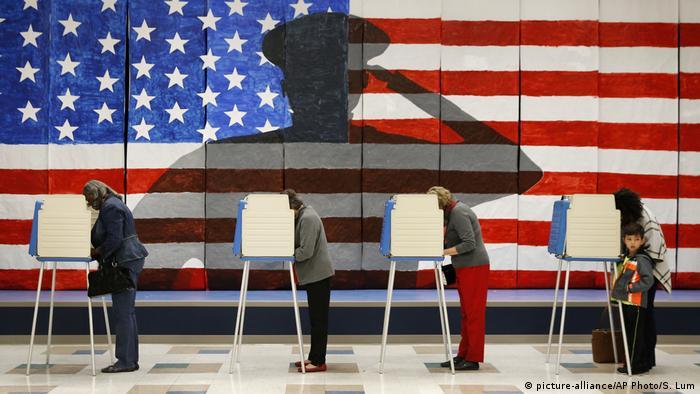 USA Präsidentschaftswahl in Virginia