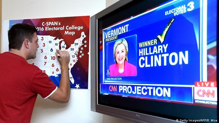 USA Präsidentschaftswahl Auszählung der Stimmen (Getty Images/AFP/R. Wise)