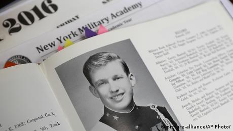 Трам - випускник Нью-Йоркської військової академії