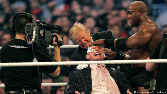 Трамп на рингу для реслінгу, 2007 рік