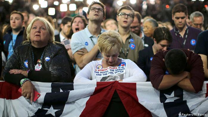 Разочарование среди сторонников Клинтон