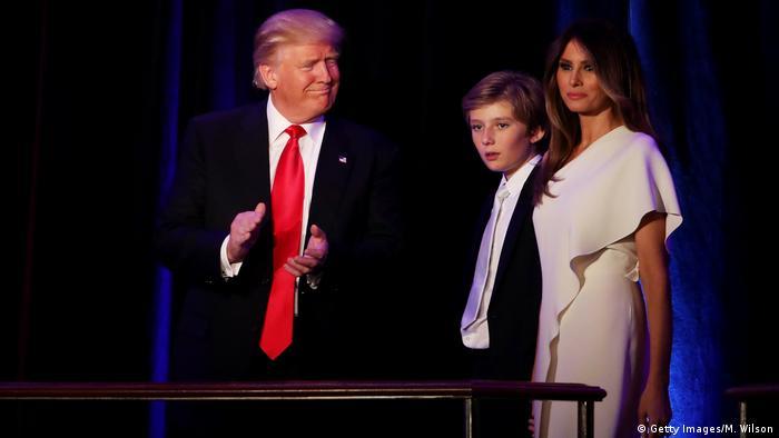 US-Präsidentschaftswahl 2016 - Sieg & Rede Donald Trump (Getty Images/M. Wilson)