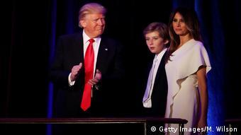 Noul preşedinte american, Donald Trump