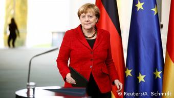 Deutschland Reaktion US-Wahl - Bundeskanzlerin Angela Merkel (Reuters/A. Schmidt)