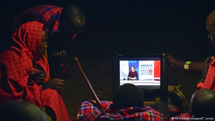 kenia US Wahlen TV Berichterstattung (AFP/Getty Images/T. Jones)