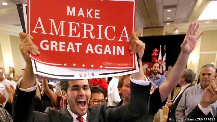 Сторонники Трампа ликуют