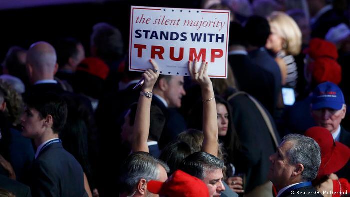 US-Präsidentschaftswahl 2016 - Anhänger Donald Trump in New York (Reuters/B. McDermid)