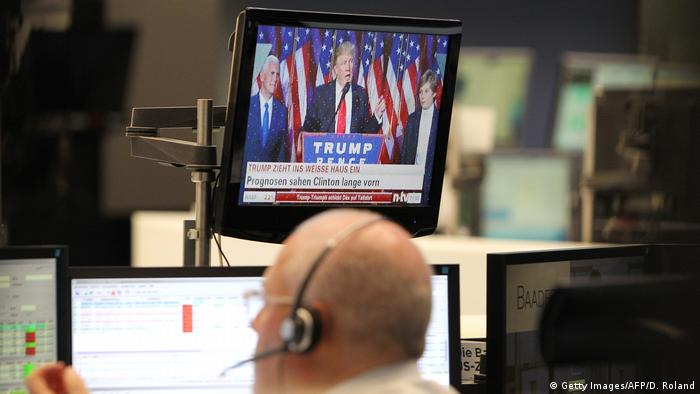 Trump wants economic growth - abd he wanst it biggly. But as every amateur economist knows, there is no such thing as a free lunch (Getty Images/AFP/D. Roland)