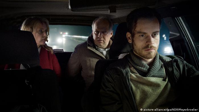 Tatort Szene Taxi nach Leipzig (picture-alliance/dpa/NDR/Meyerbroeker)