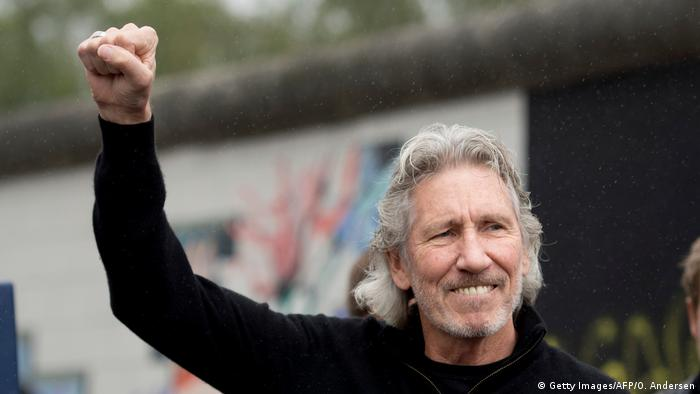 Berlin Roger Waters besucht Berliner Mauer (Getty Images/AFP/O. Andersen)