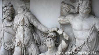 A detail of the Pergamon Altar
