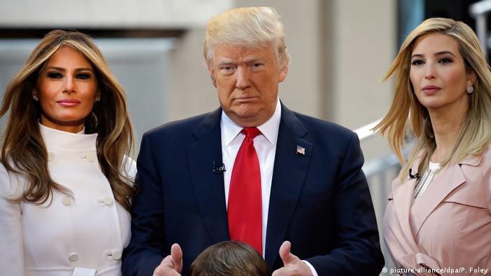 USA | Donald, Melania und Ivanka Trump