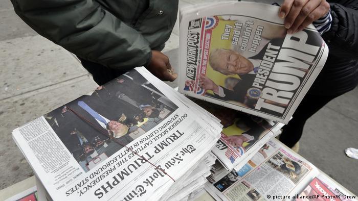Europäischer Pressespiegel über den Wahlsieg Trumps