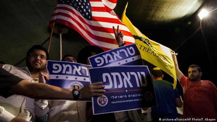 Israel US Wahl Trump (picture-alliance/AP Photo/T. Abayov)