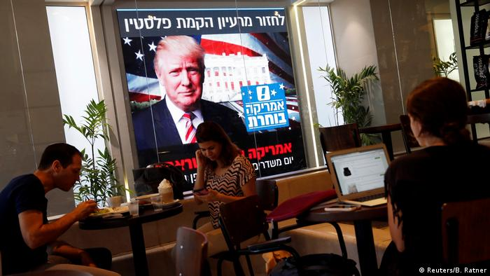 Israel US Wahl Trump (Reuters/B. Ratner)