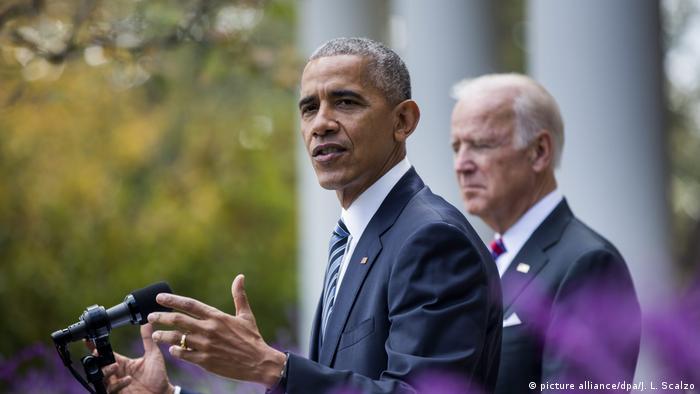 Obama ile eski yardımcısı ve Demokratların başkan adayı Biden
