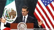 Präsident von Mexiko Enrique Peña Nieto