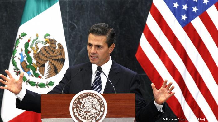 Präsident von Mexiko Enrique Peña Nieto (Picture-Alliance/dpa/EPA/J. Nunez)