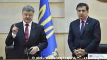 Комментарий: Изгнание Михаила Саакашвили - да здравствует система Януковича?