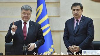 Petro Poroschenko und Michail Saakaschwili