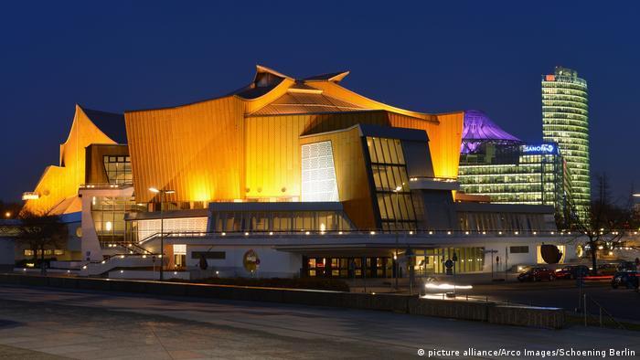 Gmach filharmonii w Berlinie