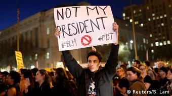 USA Präsidentschaftswahl Protest gegen Donald Trump in San Francisco